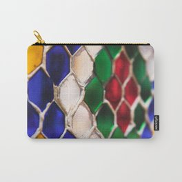 Multi colour wire pattern Carry-All Pouch