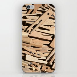 Clothespin iPhone Skin