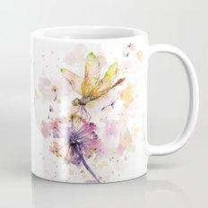 Dragonfly & Dandelion Dance Mug