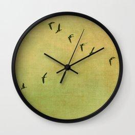 FLYING HIGH :) Wall Clock