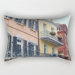 chasing balconies Rectangular Pillow
