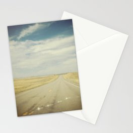 Cracked Windshield Stationery Cards