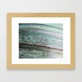Bronze Cannon No. 1605 Framed Art Print