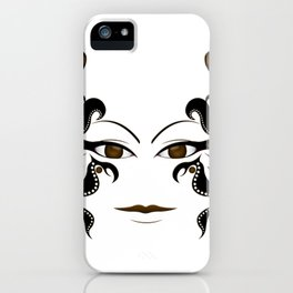 She's Watching - Tansparent Background iPhone Case