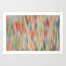 Spring Fling -- Abstract Floral Art Print