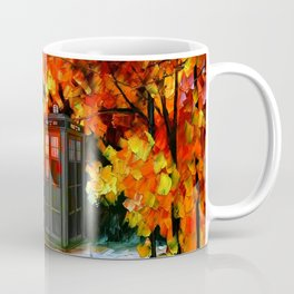 tardis cute starry night Coffee Mug