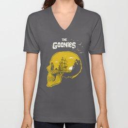 The Goonies art movie inspired Unisex V-Ausschnitt