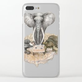 Council of Animals Clear iPhone Case