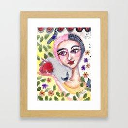 Will She? Framed Art Print