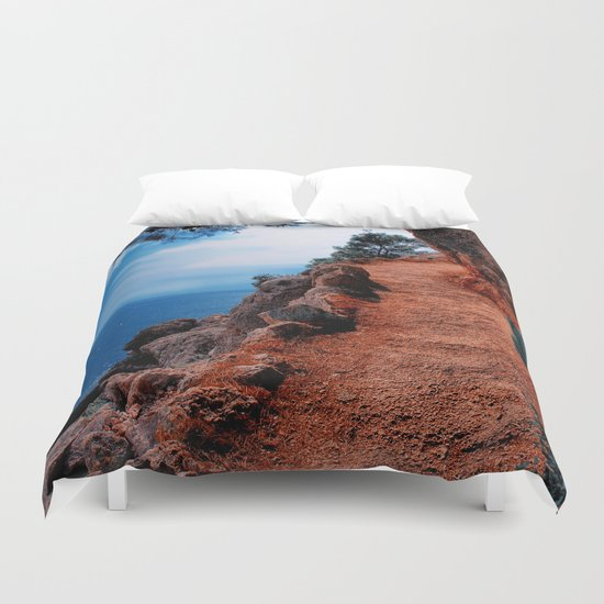 Way To The Top Duvet Cover