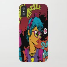 Kirby Krackle - Super Powered Love - Album Art iPhone X Slim Case