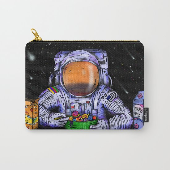 Astronaut's Breakfast Carry-All Pouch