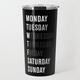 Black WFT Week Travel Mug