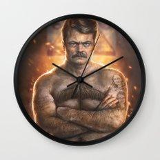 Ron ****ing Swanson Wall Clock
