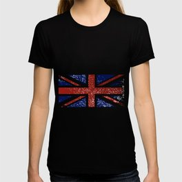 Grunge British Flag T-shirt