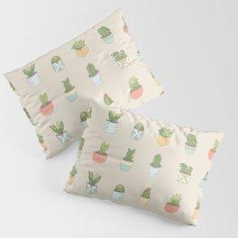 Cute Succulents Pillow Sham