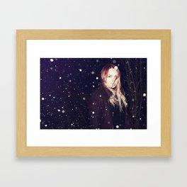 Snowy Dreams Framed Art Print