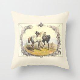 HORSE LOVE  Throw Pillow