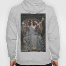 CIRCE OFFERING THE CUP TO ULYSSES - JOHN WILLIAM WATERHOUSE Hoody