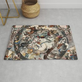 Constellations of the Southern Sky Rug