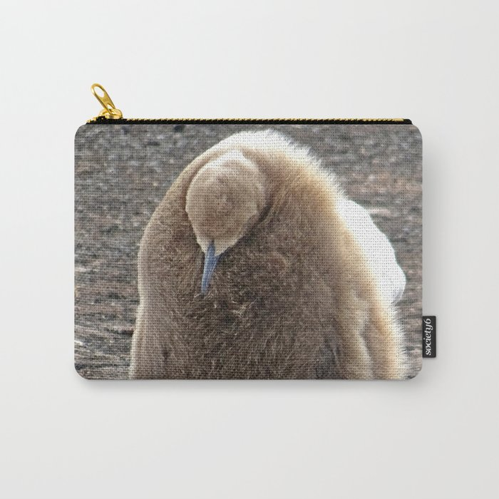 King Penguin Chick Carry-All Pouch