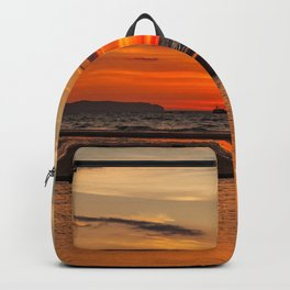 Sunset Seascape Backpack