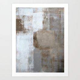 Calm and Neutral Art Print