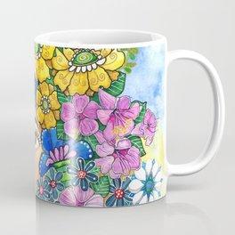 Eighties Side Ponytail Coffee Mug