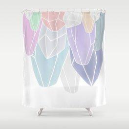 Stalactites Shower Curtain