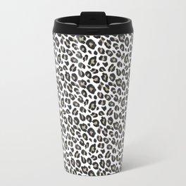 Small Leopard Print Travel Mug