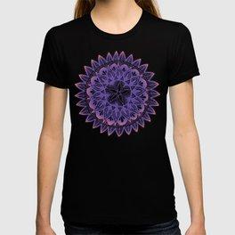 Purple-Pink Mandala T-shirt