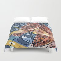 stockholm Duvet Covers featuring STOCKHOLM by C. Reeder