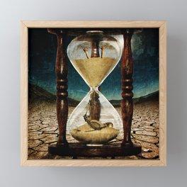 Sands of Time ... Memento Mori Framed Mini Art Print
