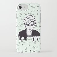 exo iPhone & iPod Cases featuring EXO - Kris by sagwa