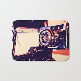 camera love Bath Mat