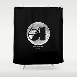 Studio 54 - Discoteque Shower Curtain