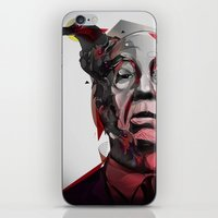 hitchcock iPhone & iPod Skins featuring Alfred Hitchcock by yoaz
