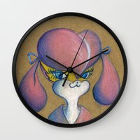 buffy Wall Clocks featuring Buffy by MissyandFriends
