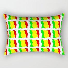 Flag of mali -mali,malien,malienne,malian,bamako,tombouctou,timbuktu,sikasso,mopti,mande Rectangular Pillow