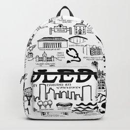 Toledo Ohio Backpack