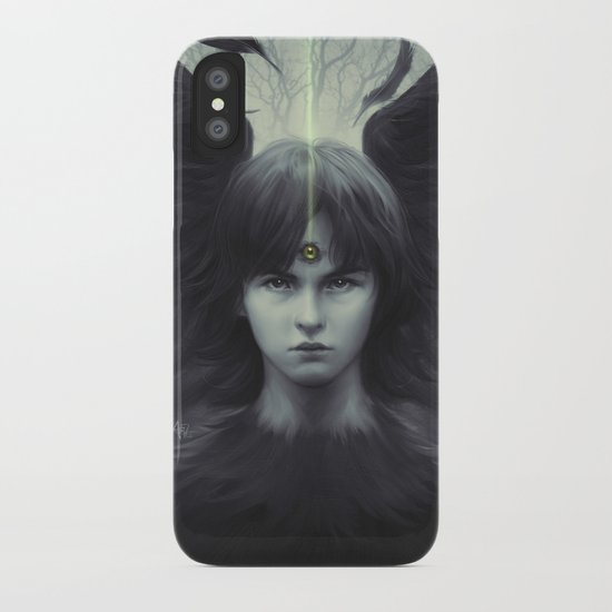 Eye of Raven iPhone Case