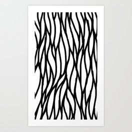 Raw Pattern Series: n. 4 Art Print