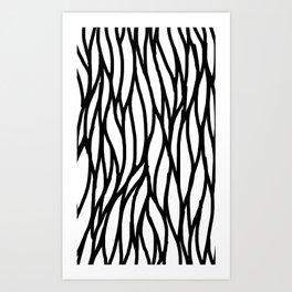 Raw Pattern Series: n. 4 Art Print