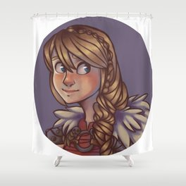 Astrid Hofferson Shower Curtain