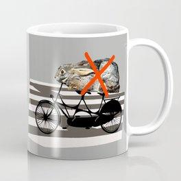 NO RABBITS ON TANDEM BICYCLE Coffee Mug