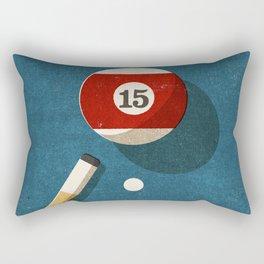 BILLIARDS / Ball 15 Rectangular Pillow
