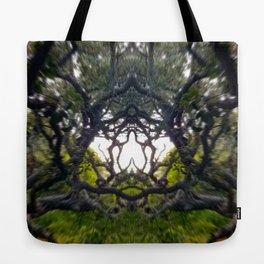 Praying Trees Tote Bag