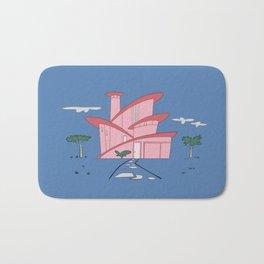 Pink Panther's Modern House Bath Mat