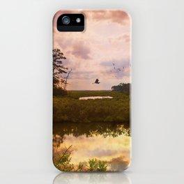 Refuge Sunset iPhone Case