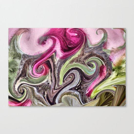 Art Pink Canvas Print